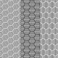 Vector Geometric Patterns Set