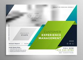 modello di presentazione brochure elegante astratto