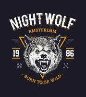 Wolf hoofd art