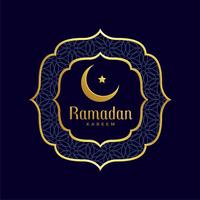 ramadan kareem islamic golden background