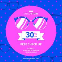 Eye Glasses Promotion Template