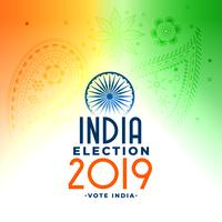 2019 indian general loksabha valkoncept design