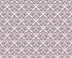 Damask vintage seamless patterns.