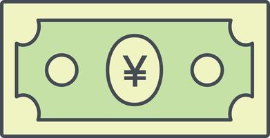 Yen Vector Icon