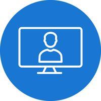 Online Work Vector Icon