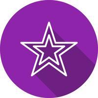 Icono de vector estrella