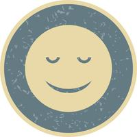 Calm Emoji Vector Icon