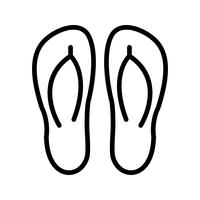 Slippers Vector Icon