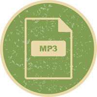 Icona MP3 vettoriale