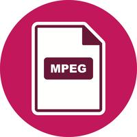 MPEG Vector-pictogram