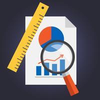 Analityc illustration du projet vecteur