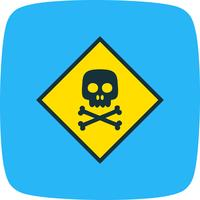 Toxic Vector Icon