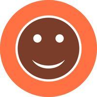 Happy Emoji Vector Icon