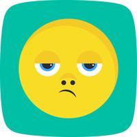 Besviken Emoji Vector Icon