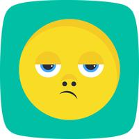 Disappointed Emoji Vector Icon