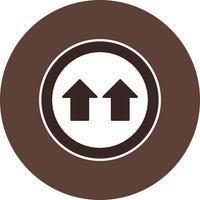 Give Way Icon Vector