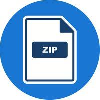 ZIP Vector Icon