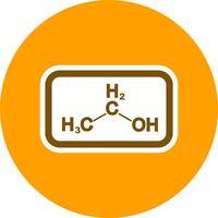 Icona di vettore di etanolo