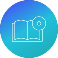 Livre DVD Vector Icon