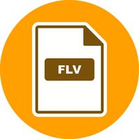 FLV Vector pictogram