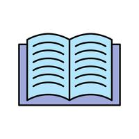 Öppna bokvektorns ikon