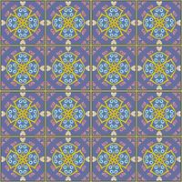 Tile pattern background