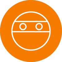 Ninja Emoji Vector Icon