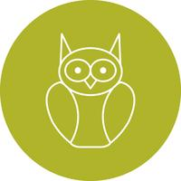 Graduate Owl Vector Icon