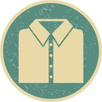 School Shirt Vector Icon
