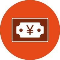 yen vector pictogram