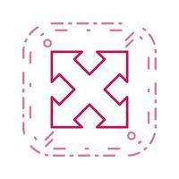 Développez Vector Icon