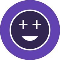 Icono de Vector de Emoji positivo