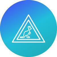 Vector wilde dieren kruising pictogram