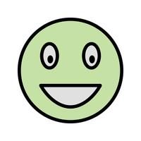 Icona di vettore di Emoji di risata