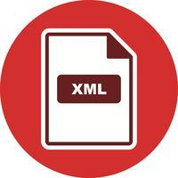 XML Vector-pictogram