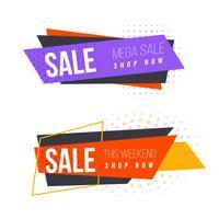 Sale banner set