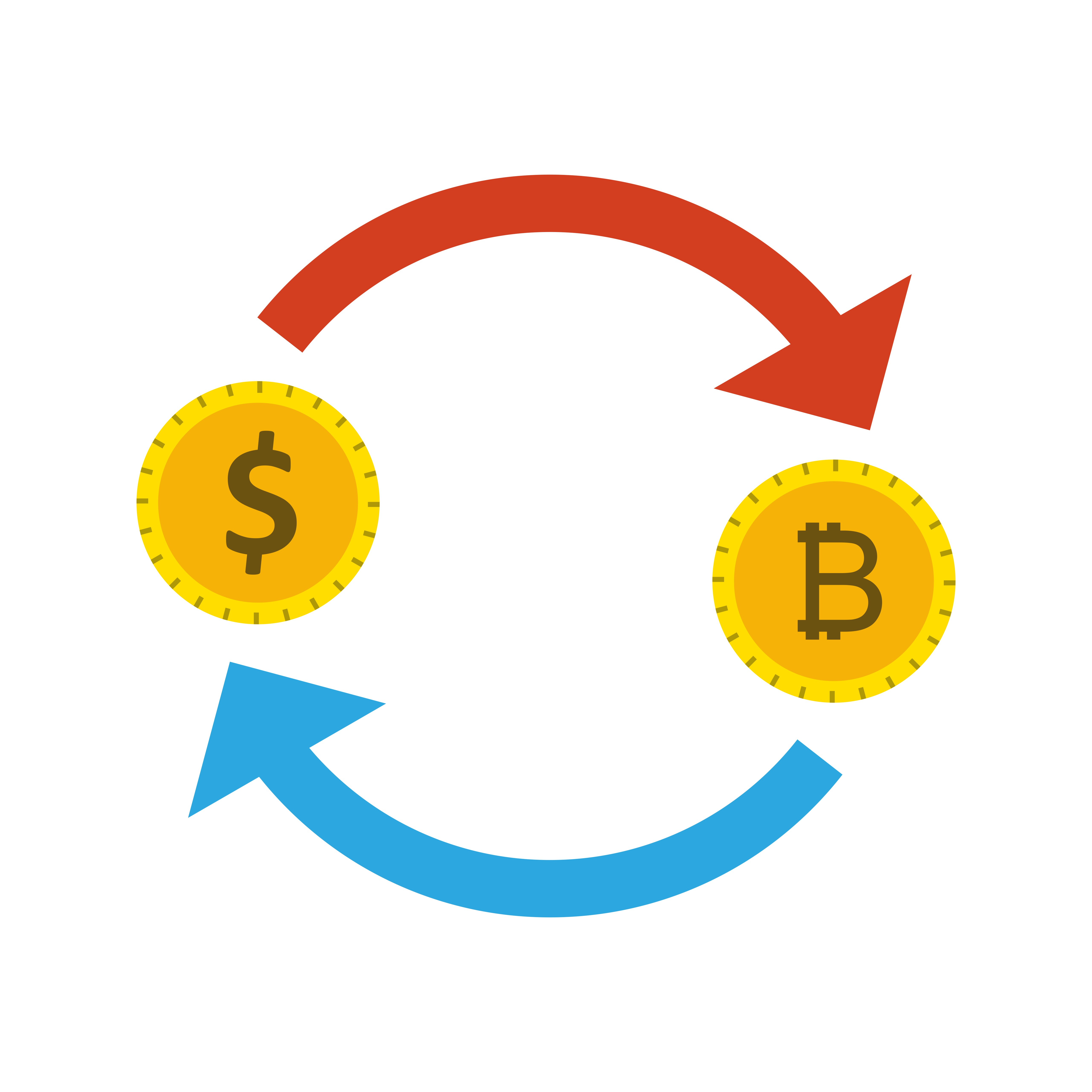 can you exchange bitcoin for dollars