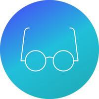 Icona di vettore di occhiali sperimentali