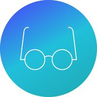 Experimental Glasses Vector Icon