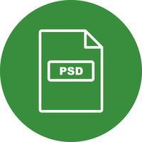 PSD-Vektor-Symbol
