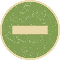 Minus-Vektor-Symbol