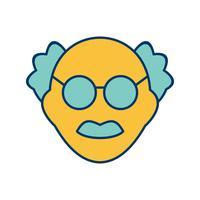 Hombre científico Vector icono