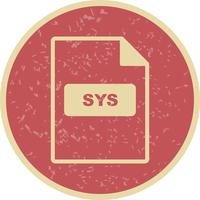 icono de vector sys