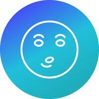Icona di vettore di Emoji del fischio