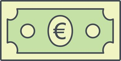 Euro Vector pictogram