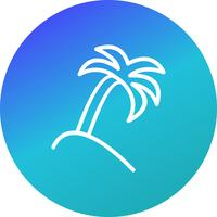 Palm Tree Vector Icon