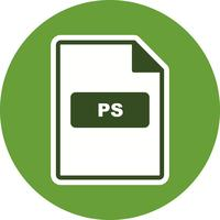 ps vector pictogram