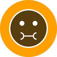 Icono de Vector de Emoji enfermo