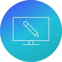 Online Education Vector Icon