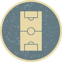 Football Field Vector Icon